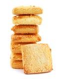 Biscotti di Shortbread Fotografia Stock