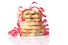 Biscotti di shortbread di natale Fotografia Stock