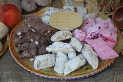 Biscotti di Tozzetti immagini stock