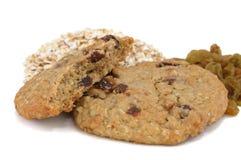 Biscotti di uva passa della farina d'avena Immagini Stock