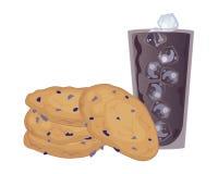 Biscotti di uva passa e della farina d'avena Fotografia Stock Libera da Diritti