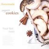 Biscotti di zucchero Fotografie Stock