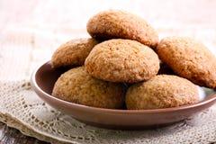 Biscotti di zucchero bruno piccanti molli Fotografie Stock Libere da Diritti