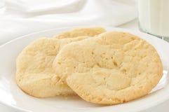 Biscotti di zucchero casalinghi Fotografie Stock Libere da Diritti