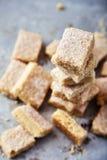 Biscotti di zucchero casalinghi fatti da semolino Fotografie Stock Libere da Diritti