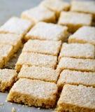 Biscotti di zucchero casalinghi fatti da semolino Fotografia Stock Libera da Diritti