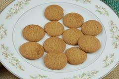 Biscotti di zucchero della cannella Fotografia Stock Libera da Diritti