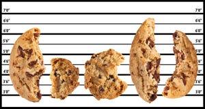Biscotti difettosi Fotografie Stock