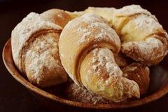 Biscotti dolci con inceppamento Immagine Stock