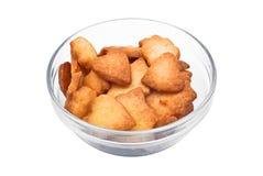 Biscotti dolci del biglietto di S. Valentino immagini stock