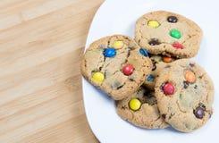 Biscotti dolci squisiti Fotografie Stock Libere da Diritti