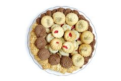 Biscotti e biscotti Fotografia Stock Libera da Diritti