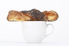 Biscotti e caffè Fotografie Stock Libere da Diritti