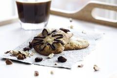 Biscotti e caffè Immagine Stock Libera da Diritti