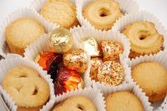 Biscotti e caramella Immagine Stock Libera da Diritti