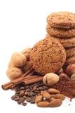 Biscotti e cioccolato Immagine Stock Libera da Diritti