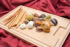 Biscotti e grissini Fotografia Stock Libera da Diritti