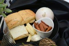 Biscotti e primo piano della pasticceria Immagine Stock Libera da Diritti