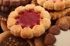 Biscotti farciti Fotografia Stock Libera da Diritti