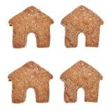 Biscotti a forma di della Camera Immagine Stock Libera da Diritti