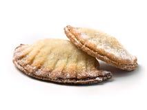 Biscotti a forma di delle coperture Immagini Stock Libere da Diritti