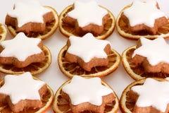 Biscotti freschi della cannella Fotografia Stock