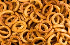 Biscotti freschi salati Fotografia Stock Libera da Diritti