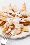 Biscotti fritti Fotografie Stock