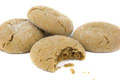 Biscotti isolati Fotografie Stock Libere da Diritti