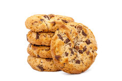 Biscotti isolati Fotografia Stock Libera da Diritti