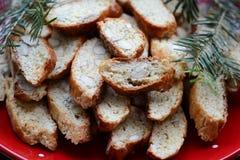 Biscotti italiano di cantucci Immagine Stock Libera da Diritti
