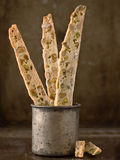 Biscotti italien traditionnel rustique photos stock