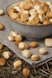 Biscotti lituani tradizionali di Natale fotografia stock libera da diritti