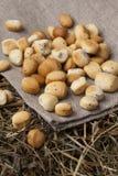 Biscotti lituani tradizionali di Natale fotografia stock