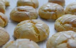 Biscotti lustrati limone Immagini Stock