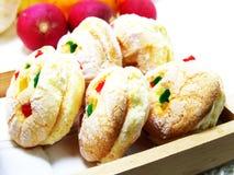 Biscotti misti di frutti Immagine Stock Libera da Diritti