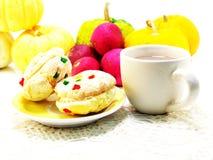Biscotti misti di frutti Immagini Stock