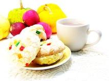 Biscotti misti di frutti Fotografia Stock Libera da Diritti
