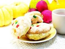 Biscotti misti di frutti Fotografie Stock