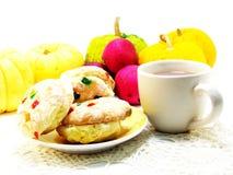 Biscotti misti di frutti Fotografie Stock Libere da Diritti