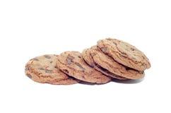 Biscotti molli del brownie del cioccolato fondente Immagini Stock Libere da Diritti