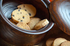 Biscotti nel barattolo Fotografia Stock