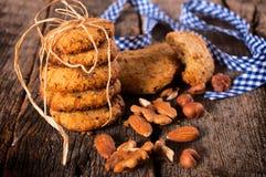 Biscotti Nuts fotografie stock