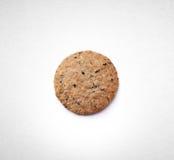 Biscotti o biscotti di burro su un fondo fotografie stock