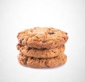 Biscotti o biscotti di burro su un fondo fotografia stock