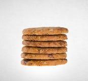 Biscotti o biscotti di burro su un fondo fotografia stock libera da diritti