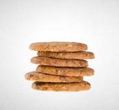 Biscotti o biscotti di burro su un fondo fotografie stock libere da diritti