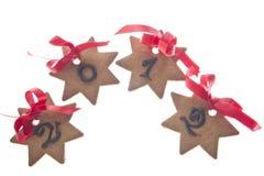 Biscotti per celebrare il nuovo anno Fotografie Stock