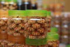 Biscotti per Eid Mubarak Fotografia Stock Libera da Diritti