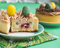 Biscotti per Pasqua Fotografia Stock